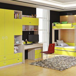 Модульная детская комната Алёнка-3