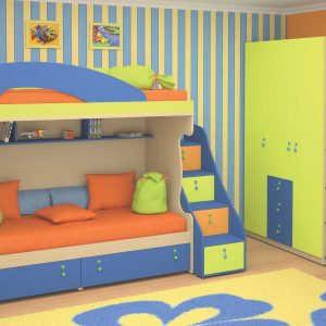 Модульная детская мебель Армани