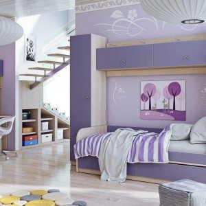 Модульная детская комната Барби