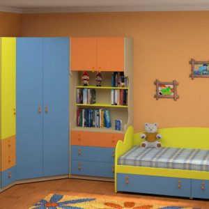 Модульная детская комната Белоснежка-9
