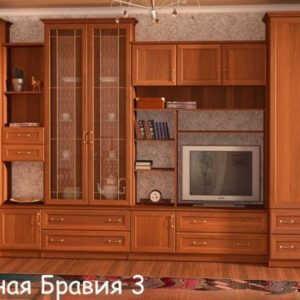 Стенка Бравия-3