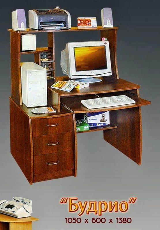 Компьютерный стол Будрио