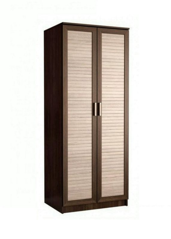Шкаф распашной ДР-1 (жалюзи рейка)
