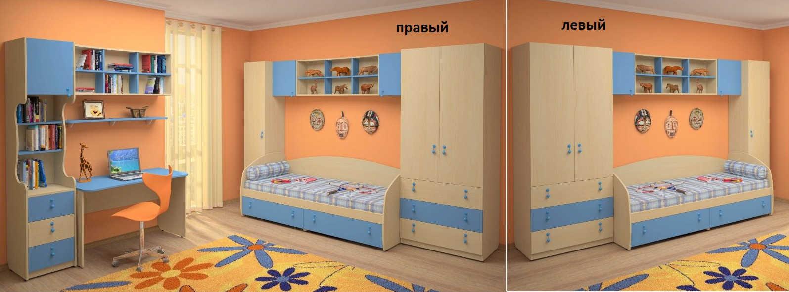 Детская Белоснежка-8 левая или правая