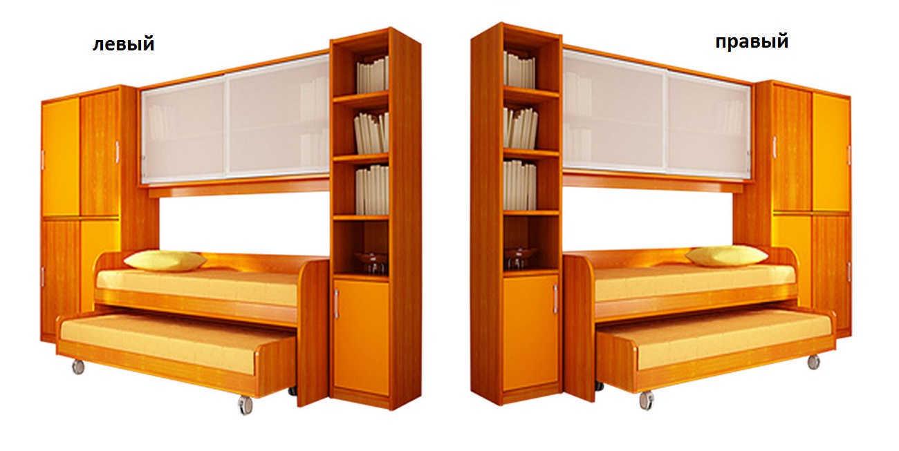 Детская мебель Двойняшки левая или правая