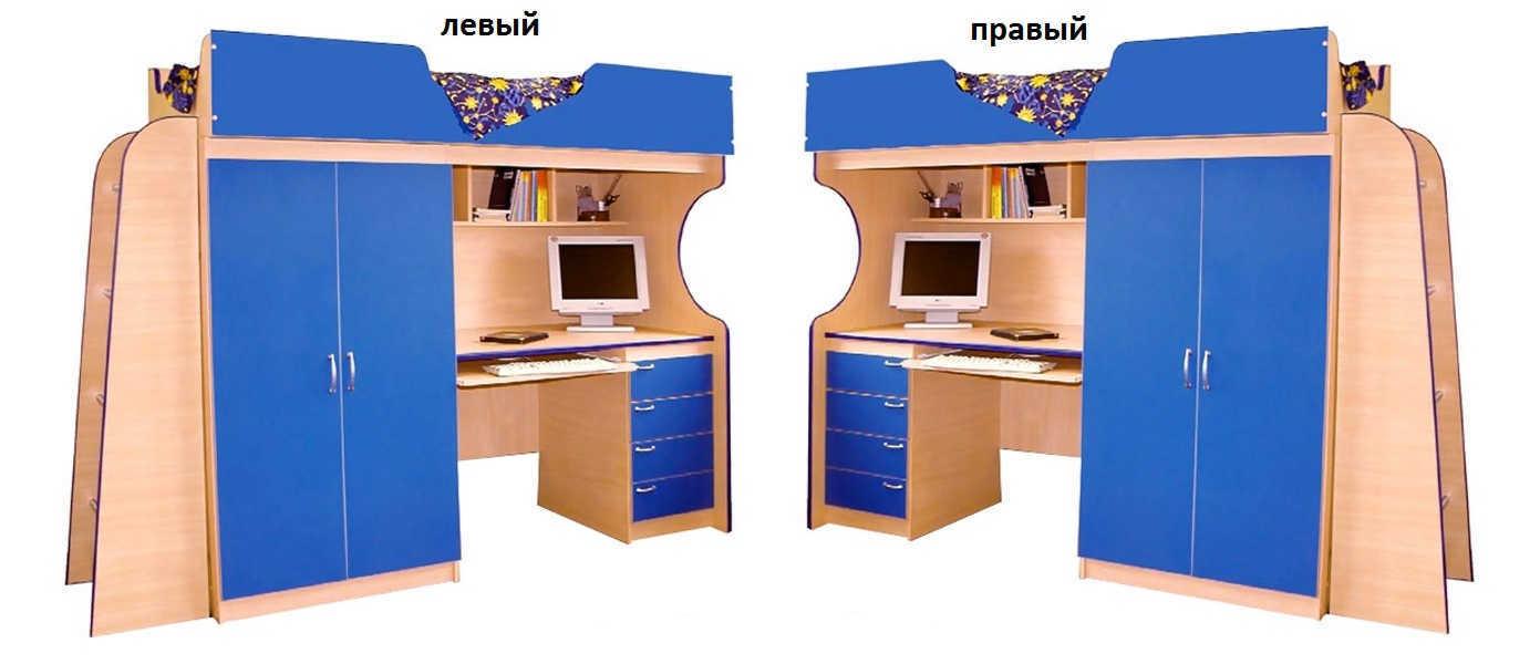 Детская Люкс-1 лестница слева или справа