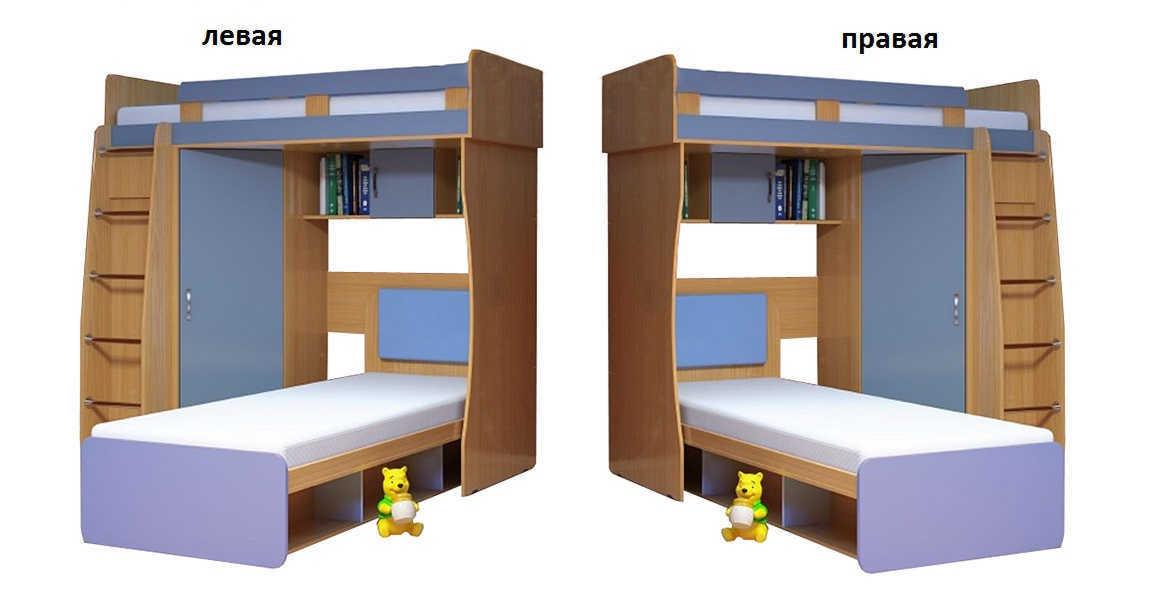 Детская Малыш-3 лестница справа или слева