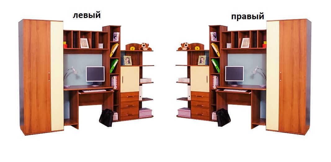 Детская Отличник-2 (новинка) шкаф слева или справа