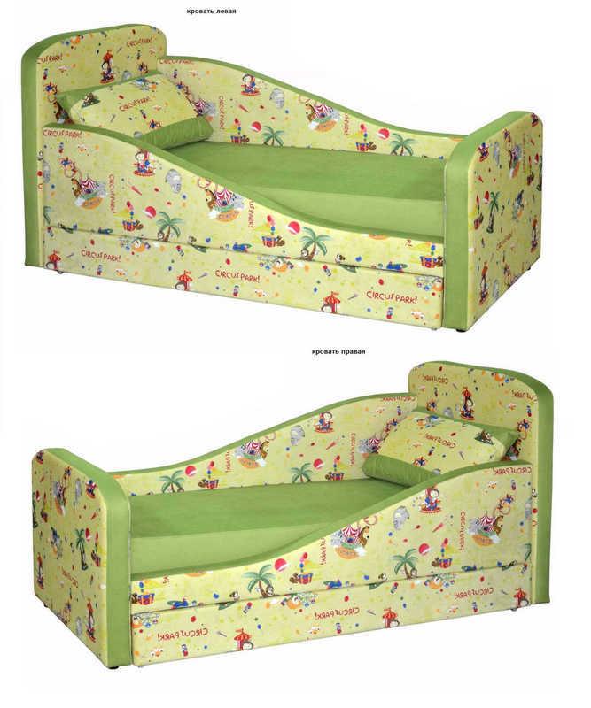 Детская кровать Микка левая или правая