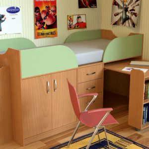Модульная детская мебель Карлсон-мини 2