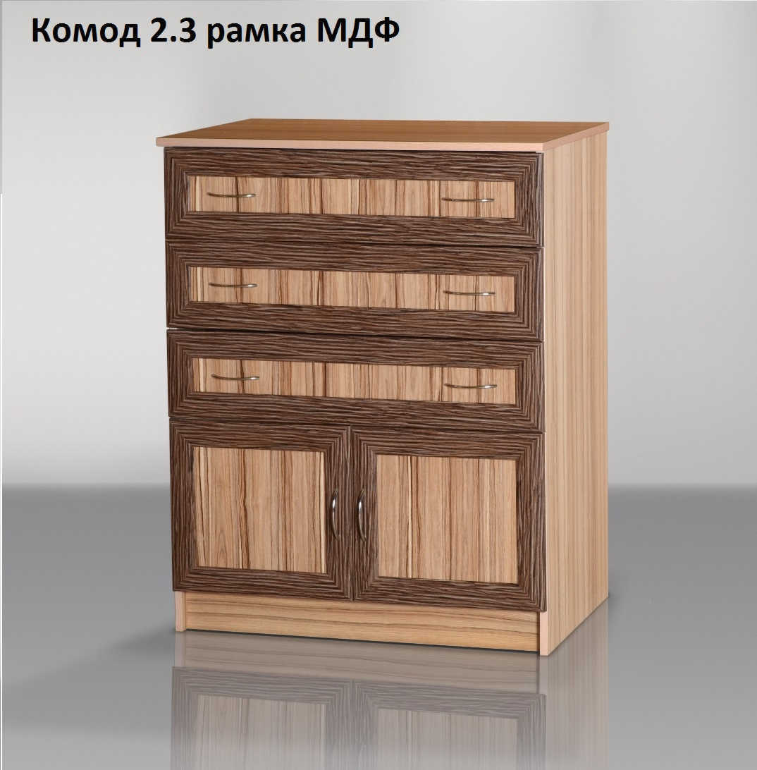 Комод-2.3 рамка мдф