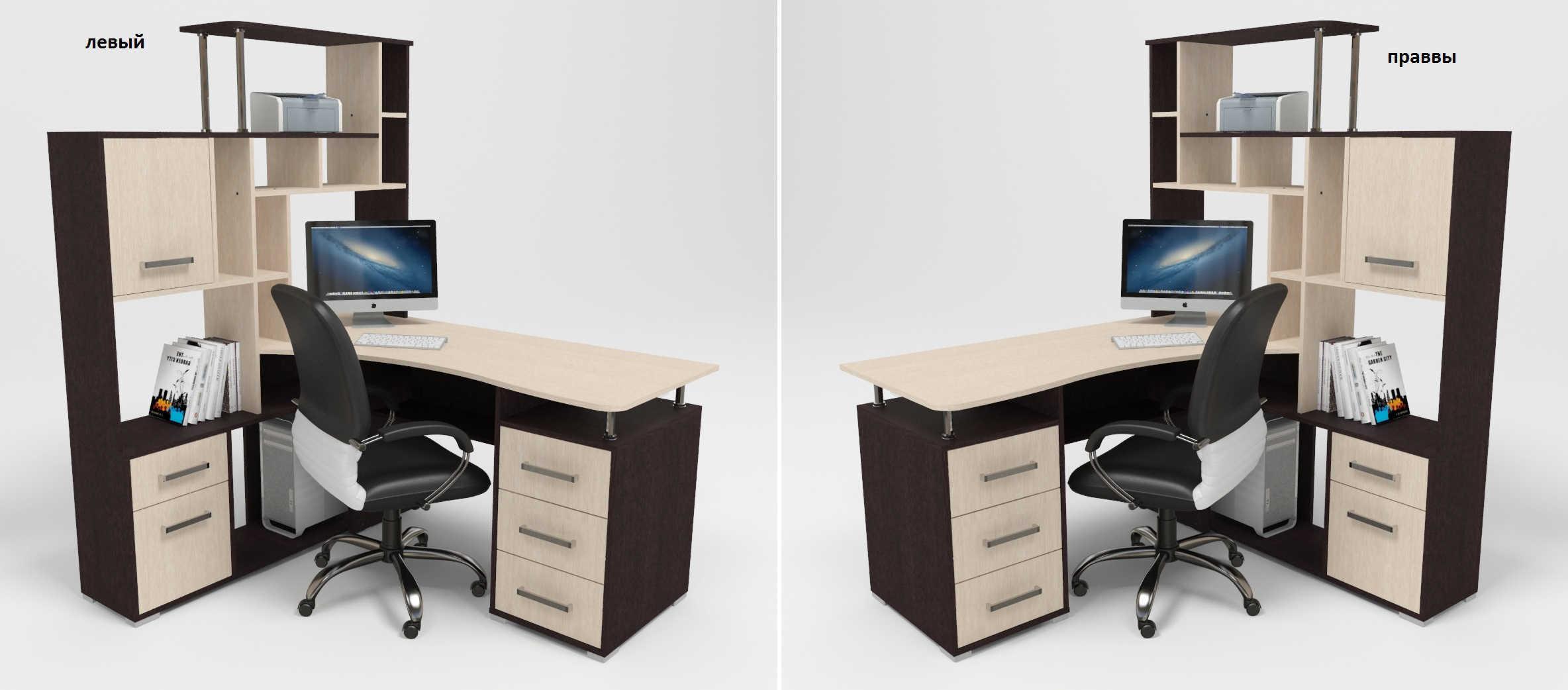 Компьютерный-стол-Джаз-КС15