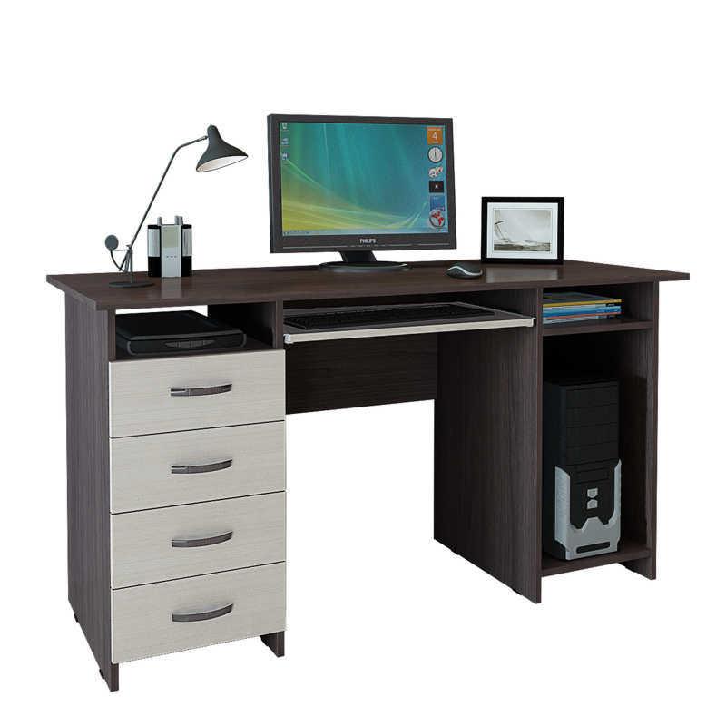 Компьютерный-стол-Милан-6-П-без-надстройки