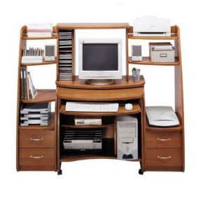 Выкатной компьютерный стол НКМ-5