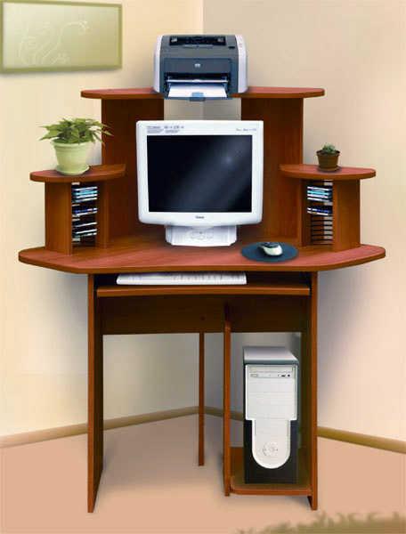 Компьютерный стол СК-10 (угловой)