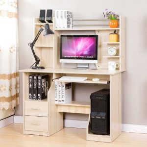 Белый компьютерный стол №12