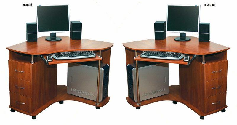 Компьютерный стол №5 левый или правый