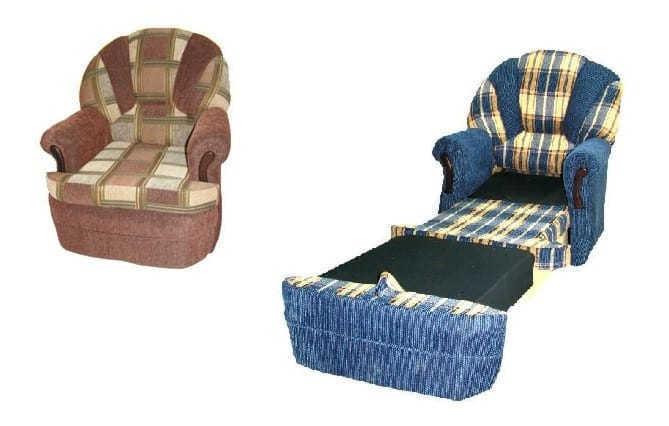 Кресло-кровать Белла-3 в разборе