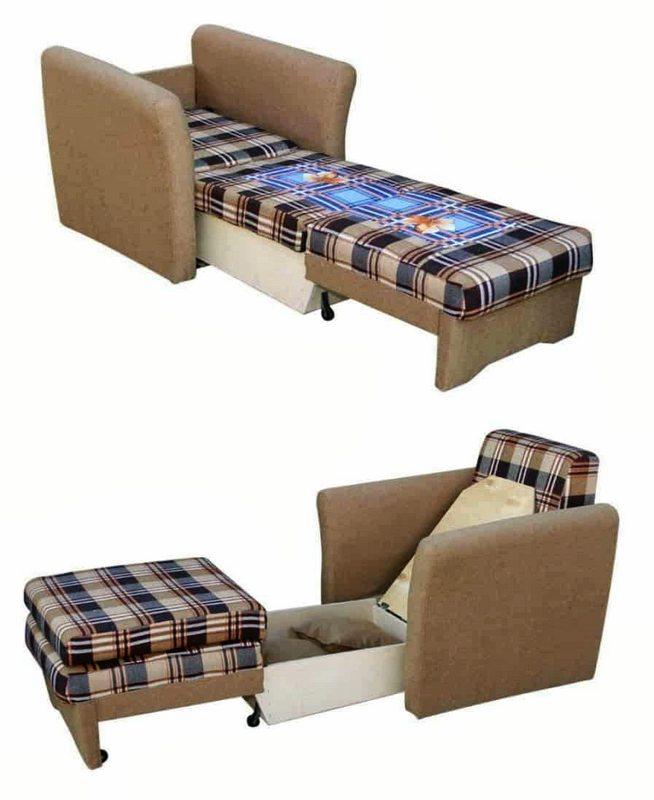 Кресло-кровать Браво в разборе