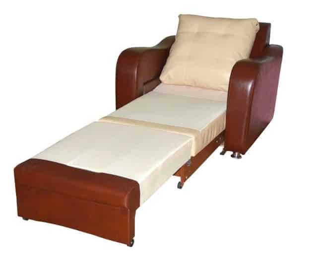 Кресло-кровать Фламинго в разборе