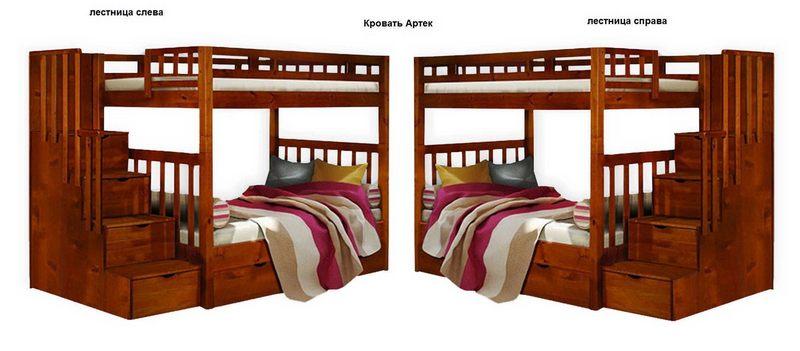 Кровать Артек 2-х ярусная