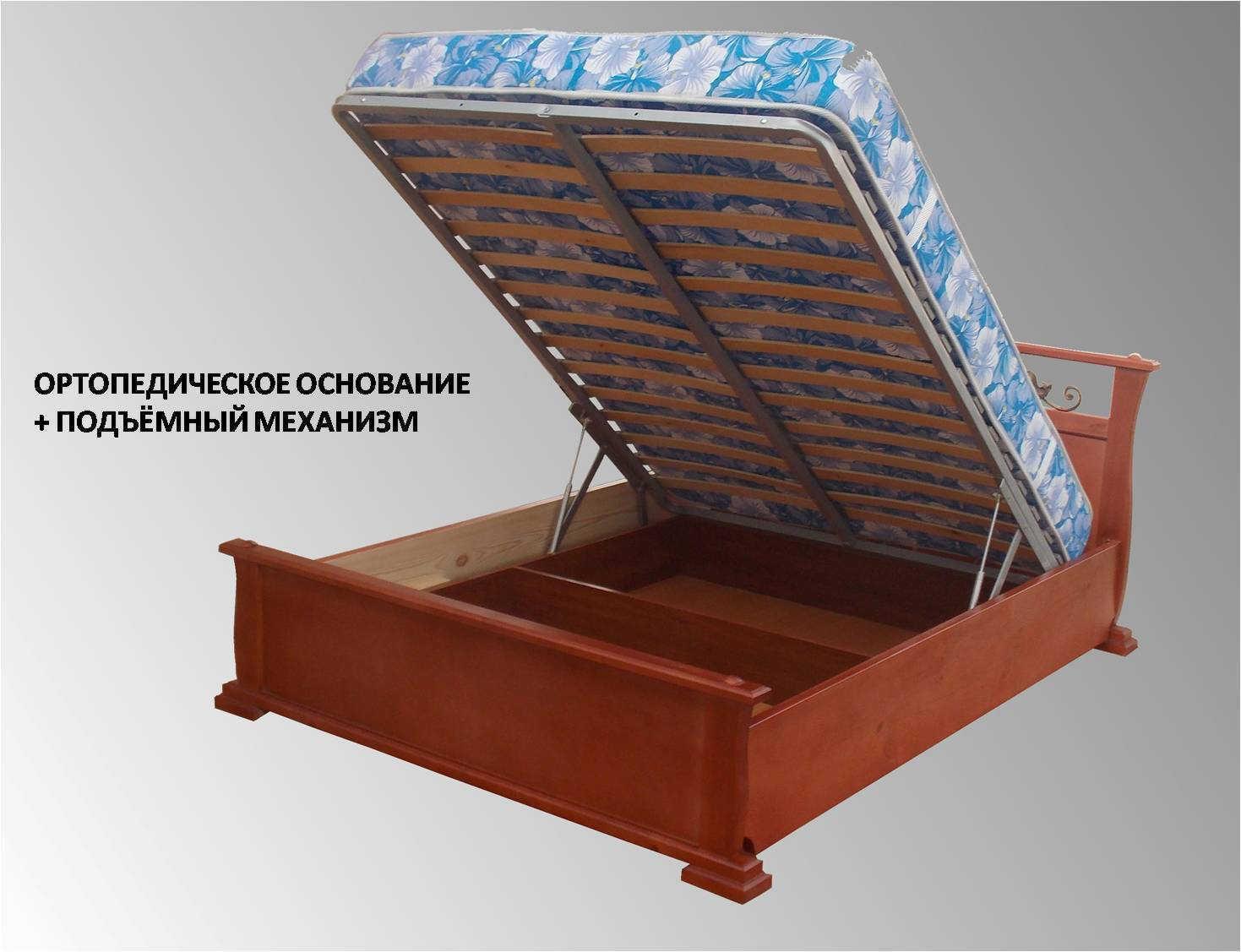 Кровать Бажена подъёмный механизм