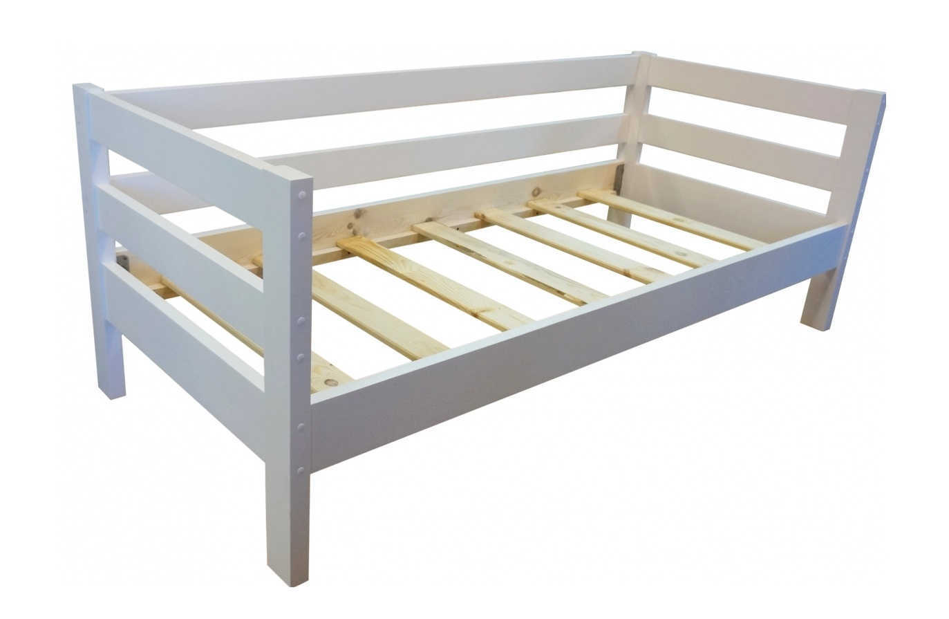 Кровать Кадет белая