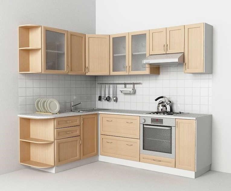 Кухня Эконом левая