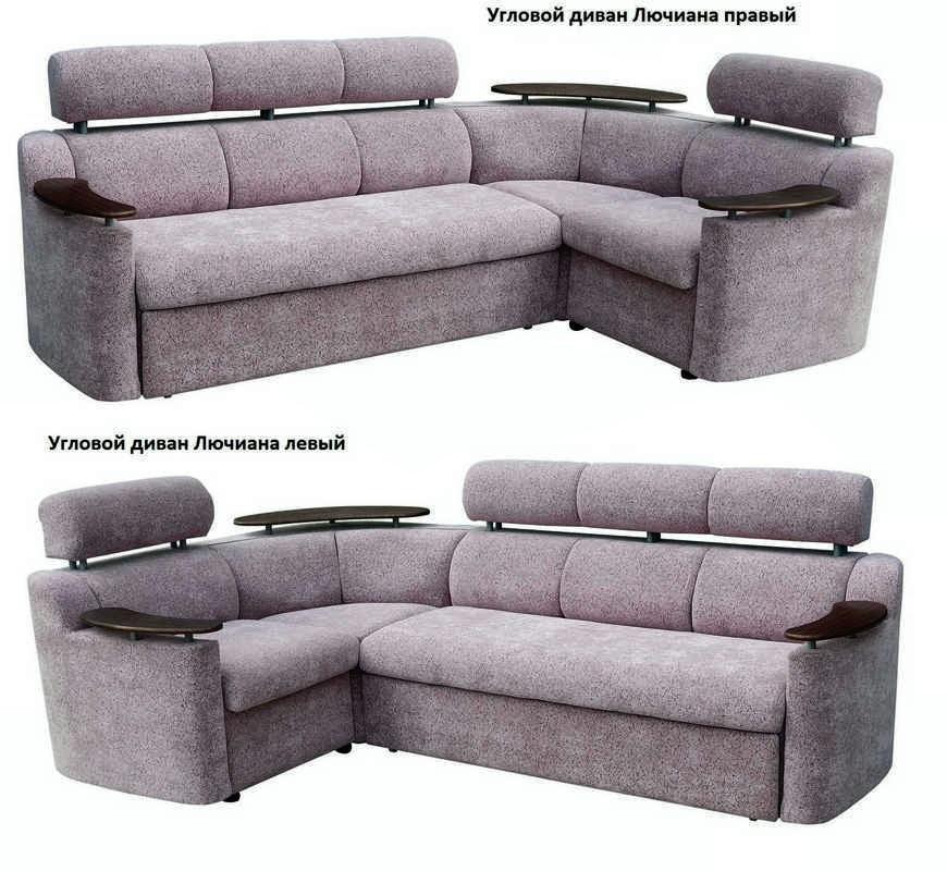 Угловой диван Лючиана левый или правый