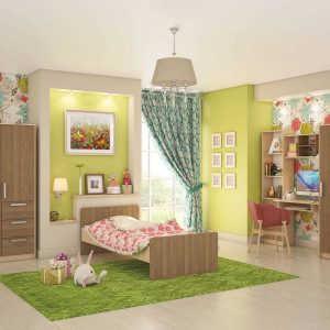 Модульная детская комната Лёва-1