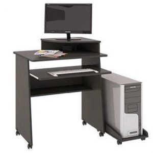 Выкатной компьютерный стол Малай-У