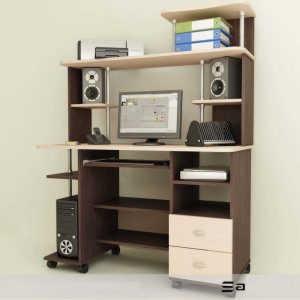 Выкатной компьютерный стол Мартин-4