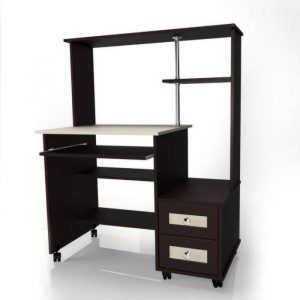 Выкатной компьютерный стол Млайн-26