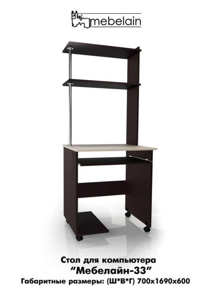 Компьютерный стол Млайн-33