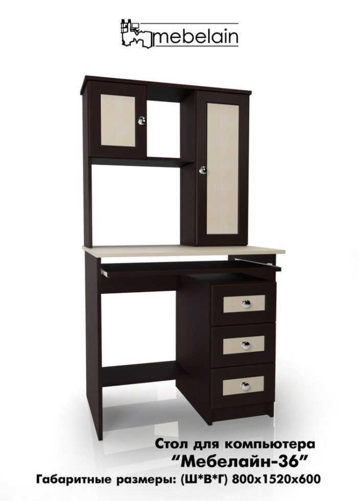 Компьютерный стол Млайн-36