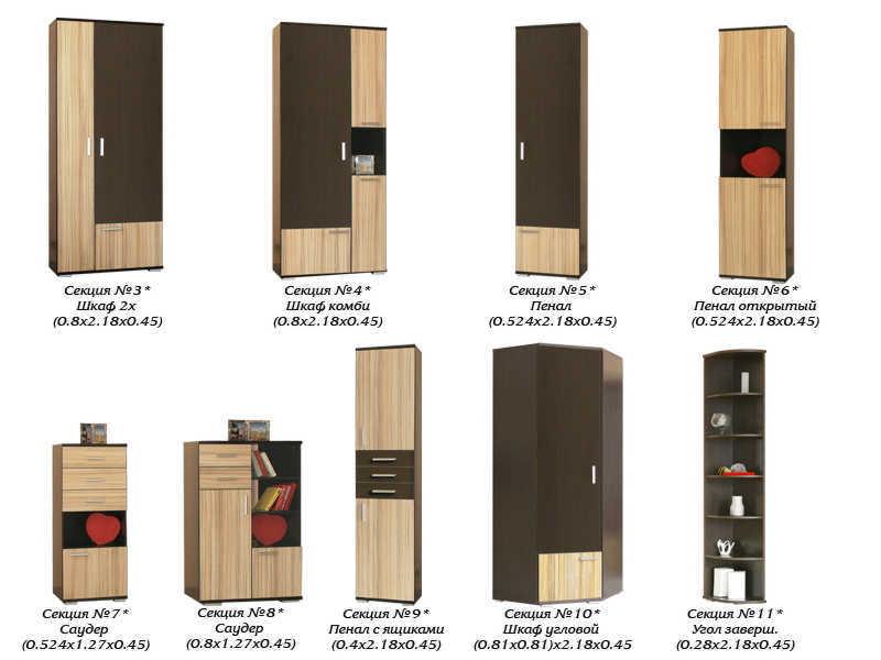 Модули от стенки Статус