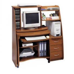 Выкатной компьютерный стол НКМ-4