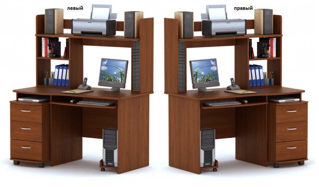 Компьютерный стол ПС 03.01+ТБ 03.02+ВС 03.03+ПБ 01.00