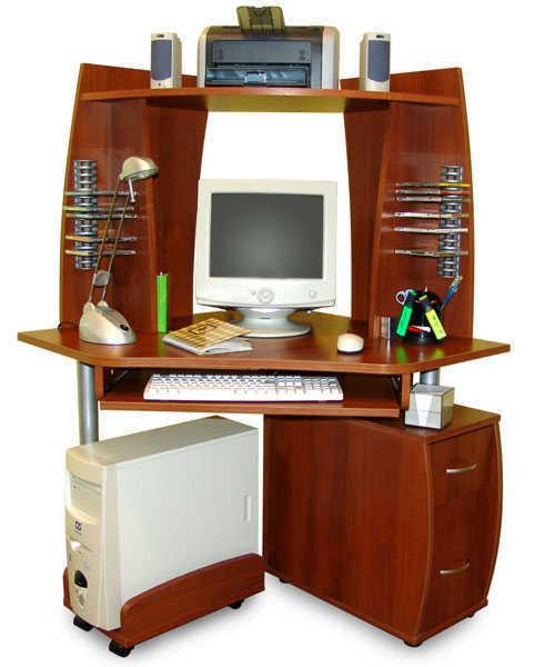 Компьютерный стол ПС 04.09 В+ПБ 01.00