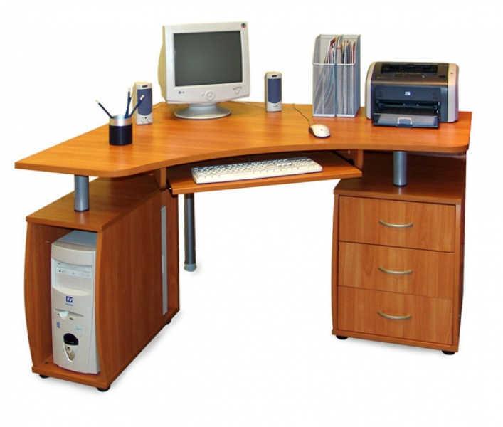 Компьютерный стол ПС 04.14 А+ПК 04.01