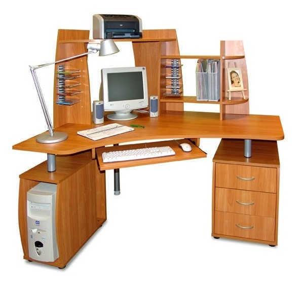 Компьютерный стол с надставками ПС 04.16.D