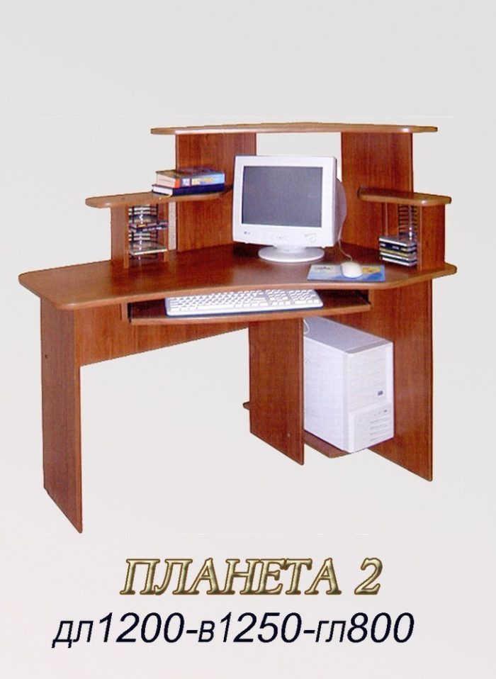 Компьютерный стол Планета-2