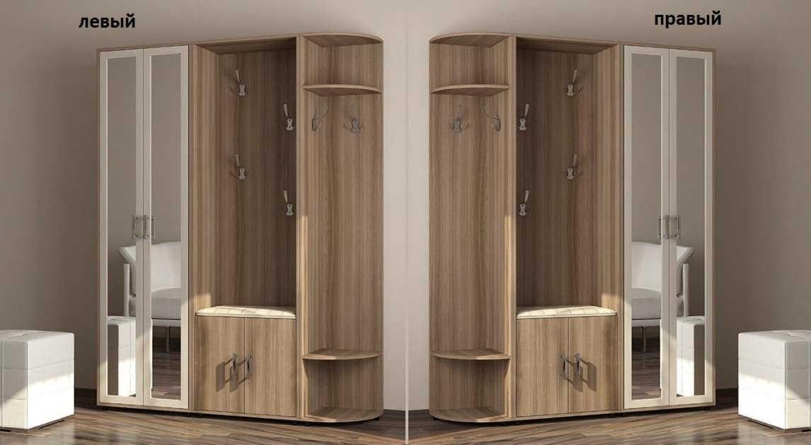 Прихожая Мебелинк 400-01 шкаф слева или справа