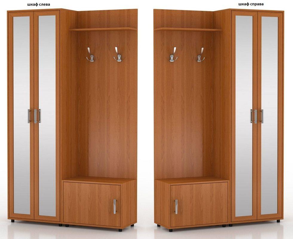 Прихожая Мебелинк 400-02 шкаф слева или справа