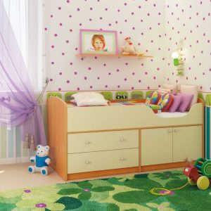 Модульная детская кровать Приют-мини