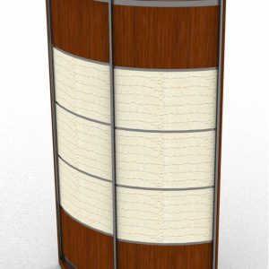 Радиусный шкаф-купе Радион Поворот 600
