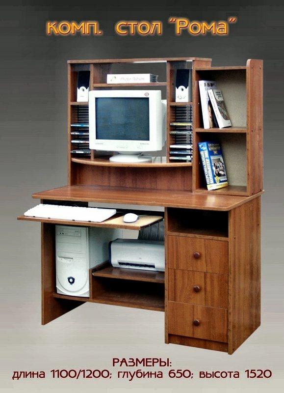 Компьютерный стол Рома