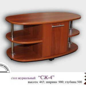 Недорогой стол журнальный СЖ-4