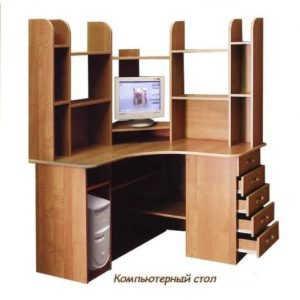 Компьютерный стол СКУ-120П