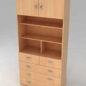 Кухонный напольный стеллаж -шкаф ШБ-2